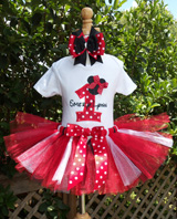Minnie Mouse Red and Black